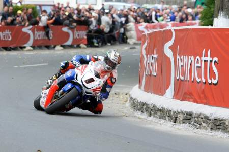 John McGuinness ran as no.1 in 2011, he'll do the same in 2014
