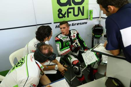 Redding and his new Gresini Team are gelling well