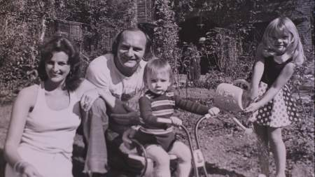 The Hailwood Family; Pauline, Mike, David and Michelle