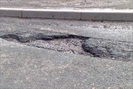 Potholes - £62.50 each to fix