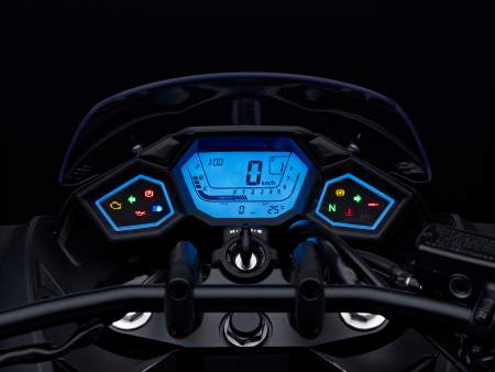 Honda Vultus colour-changing dashboard