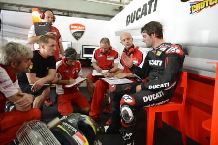 Dall'Igna is making progress at Ducati