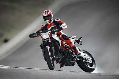 Our test rider reckons the Hypermotard SP brings out your inner hooligan. Unfortunately this isn't him.