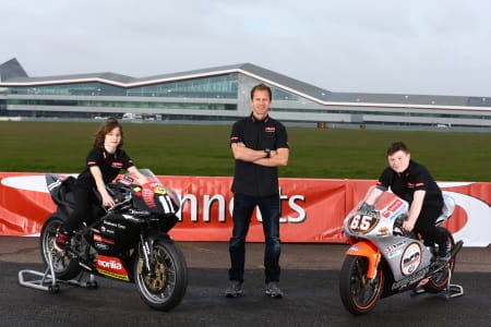 Rory Skinner and Josh Owens are the Bennetts new sponsored riders