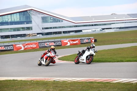 Potter and Hodgson test the Honda Fireblade SP and Ducati 899