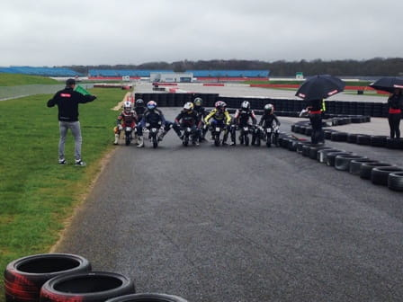 Redding starts the MiniMotogrand final