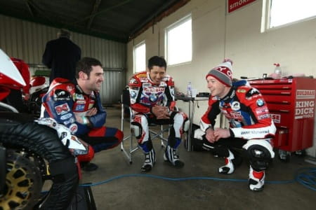 Kiyonari was happy with his BMW debut