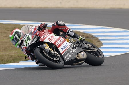 Giugliano topped the times in Jerez