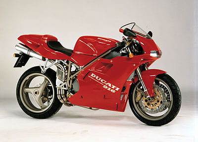Tamburini's iconic Ducati 916 design