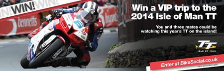 Win a trip to the TT!