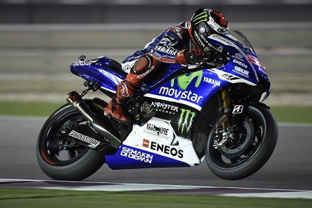 It was a tough weekend for Jorge in Qatar