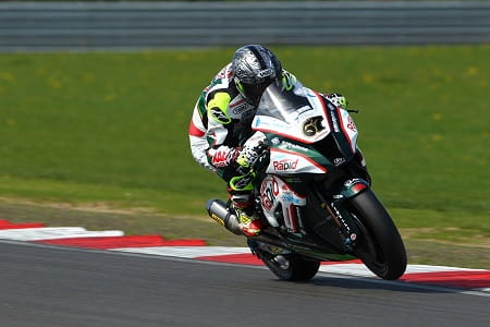 Byrne smashed another lap record at Snetterton