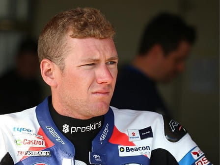 Waters is back with Suzuki for 2014