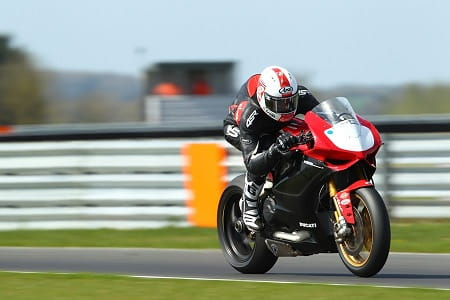 The Ducati could be fast this year
