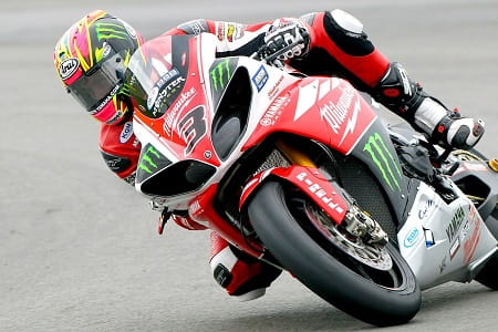 Brookes seems at home on the Yamaha