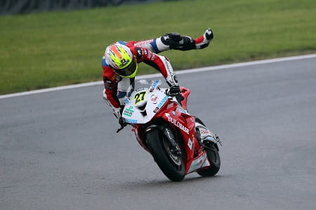There were quite a few crashes in the wet at Brands Hatch on Sunday
