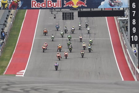 Lorenzo jumped the start in Austin