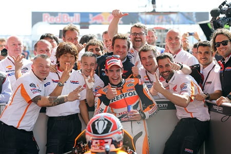 Marquez has won the first three races