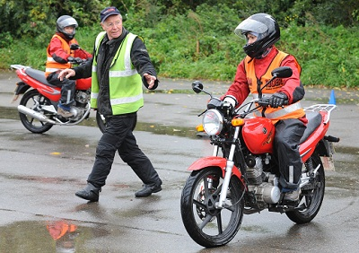 Learn to ride - it's easy, cheap and fun. Even in the rain.