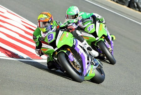 GBmoto scored their first podiums at Brands