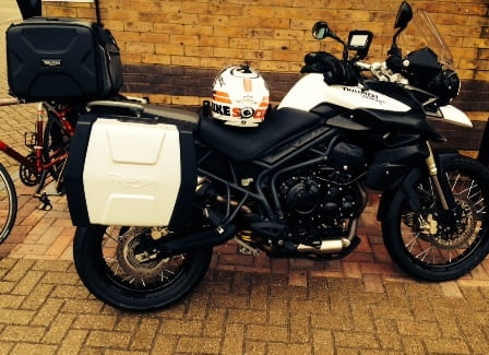 Triumph Tiger XC ready to hit the road