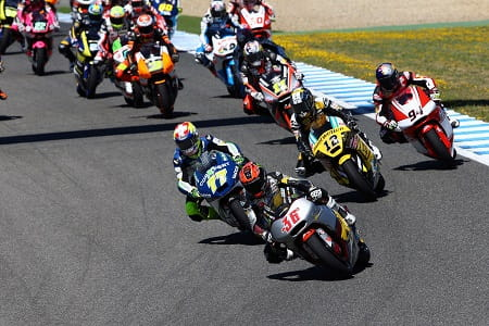 Mika Kallio stormed to victory in Moto2