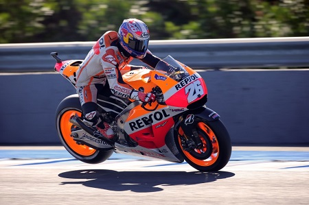 Pedrosa fought hard and ended up third