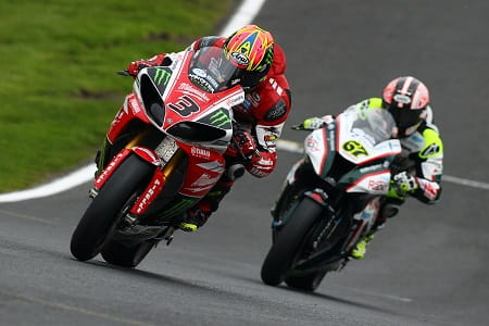 Brookes and Byrne fought hard in race two