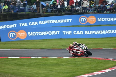 Brookes couldn't believe the pace in race two