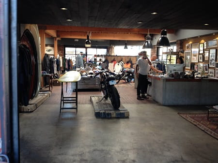 Not your average motorcycle shop...