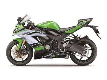 ZX-6R in its special clothes