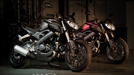 Yamaha introduces MT-07's little brother, an MT-125