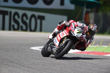 Davies took his first two Ducati podiums