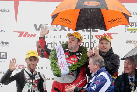 Michael Dunlop wins at NW200 2013