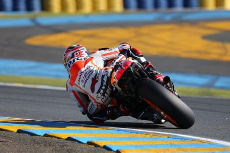Marquez made it five out of five in Le Mans