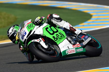 Redding finished 12th in Le Mans