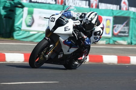 Michael took the second superbike win