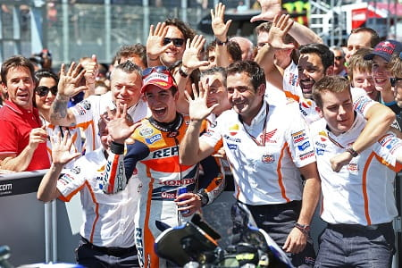 Marquez has said it's not as easy as it looks