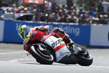 Crutchlow finished eleventh