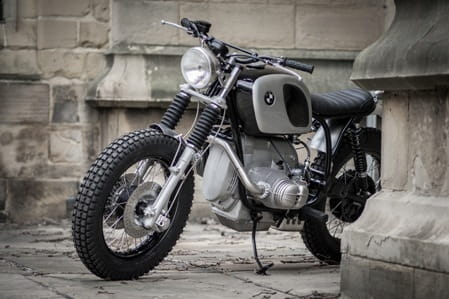 Down & Out BMW Scrambler - that's its name not its disposition