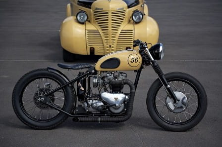 Foundry Triumph Bobber - making biege look good