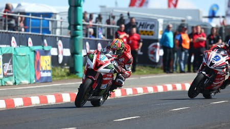 Brookes put in a good show on the 600 at the North West