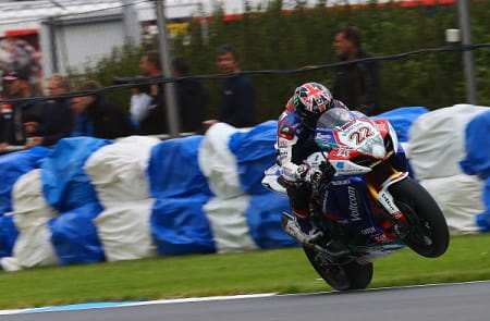 Alex Lowes took his first dry podium in World Superbikes