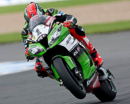 Sykes laid down the hammer in race two