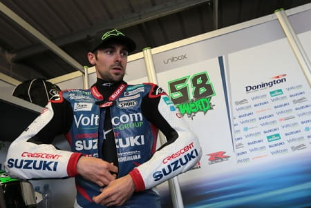 Laverty says MotoGP has always been on his mind