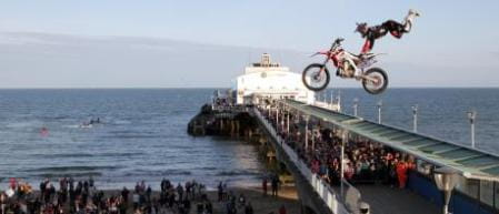 Dan Whitby beats the Bank Holiday Bournemouth crowds