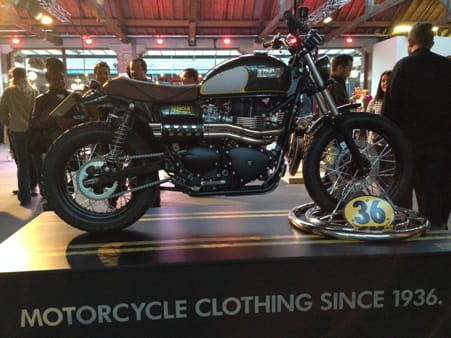 Barbour and Triumph collaborate