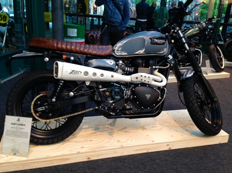Triumph Scrambler by Jack Lilley