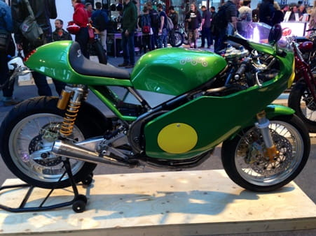 Paton straight from the Classic TT