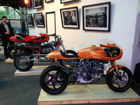 Red Max Speed Shop's stunning collection including the awesome 900 Desmo